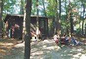 Cabin at Winding River Campground