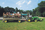 Hayride at Winding River Campground