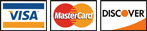 MasterCard, Visa & Discover Accepted