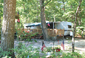 Seasonal Site at Winding River Campground